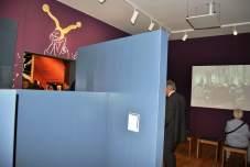 Ein Teilraum des Museums ist ein kleiner Kinosaal...