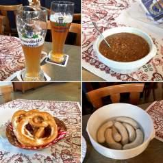 #Bayern: Weisswurstfrühstück -typisch bayerisch! Mit Brezen und Weizenbier. Ein tolles Ritual!