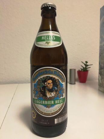 #Bayern: Augustiner Hell - Die Augen schließen und an Münchener Biergärten denken...