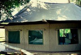 Meine komfortable Unterkunft