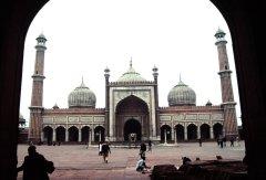 Die grösste Moschee Indiens Jami MasjidI
