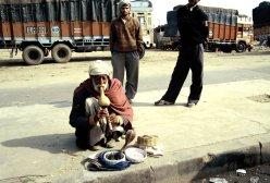 Unterwegs nach Agra