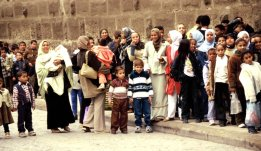 Strassenszene in Kairo