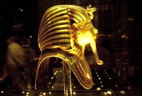 Viel Gold im Ägyptisches Museum