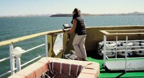 Schiffsreise auf dem Nassersee