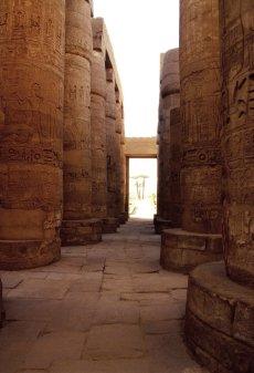 Säulenhalle von Karnak