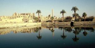 Heiliger See in Karnak