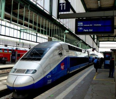 TGV Hauptbahnhof Stuttgart