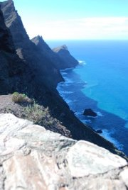 Ein Blick über den Inselrand nach Gran Canaria