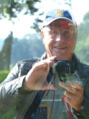 Der Fotograf und Autor in Ahlbeck auf Usedom