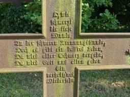 Usedom - Friedhof bei Mellenthin