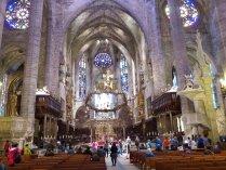 Innenansicht der Kathedrale