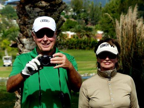 Unser 1. Golftag auf dem Maspalomas Golfplatz