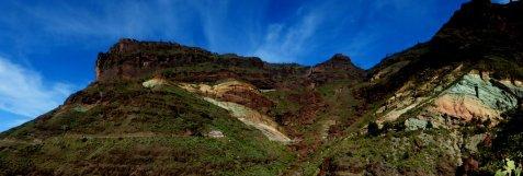 Die bunten Felsen von Los Azulejos