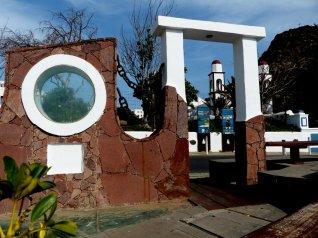 Maritimes Denkmal in Puerto de las Nieves