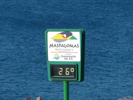 Temperatur im Dezember