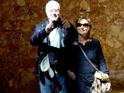 Klaus und Babara Weidner in New York
