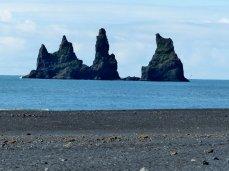 Versteinertes Schiff der Trolle - Island
