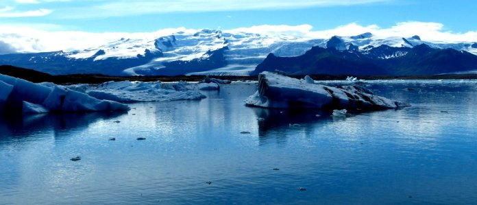 Gletscher-Lagune Jökulsarlon - Island