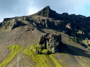 Vulkanische Überbleibsel - Island