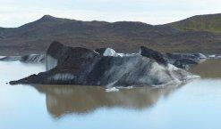 Gletscherlagune am Abend - Island
