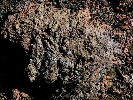 Erkalteter Lavafluss - Island