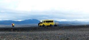 Autopanne im Niemandsland - Island