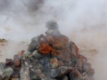 Es stinkt und zischt... - Island