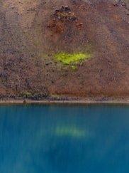 Farbspiel im Gletschersee - Island