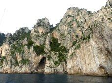 Capri, eine felsige Insel