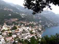 Amalfiküste - Blick auf Positano