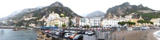 Panorama von Amalfi