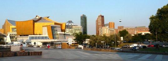 Philharmonie und Potsdamer Platz