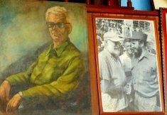 Fidel und Hemingway bei deren einzigen Zusammentreffen
