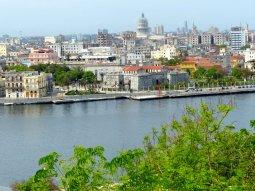 Blick auf die Innenstadt von Havanna