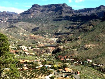 Fruchtbares Bergtal