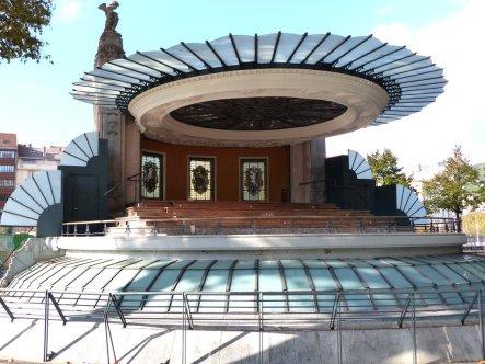 Musikpavillon im Jugendstil