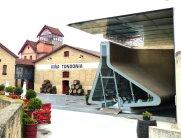 Empfangsgebäude von Architektin Zaha Hadid