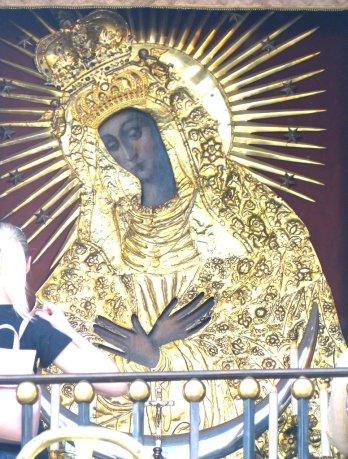 Die heilige schwarze Madonna