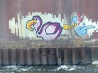 Grafitti an der Memel