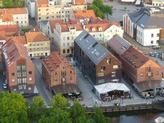 Blick auf Klaipeda