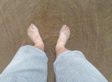 Kalte Füße an der Ostsee