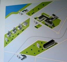 Dessau Bauhaus: 1 Hauptgebäude, 2 Meisterhäuser, 3 Bauhausmuseum