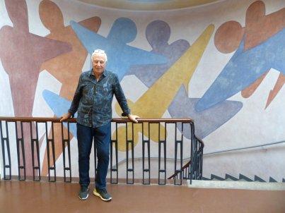Der Autor und Fotograf in der Bauhaus Universität