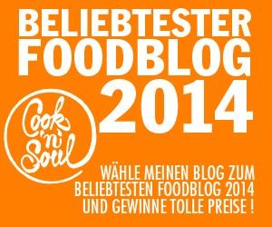 Wählt meinen Blog zum Foodblog des Jahres 2014