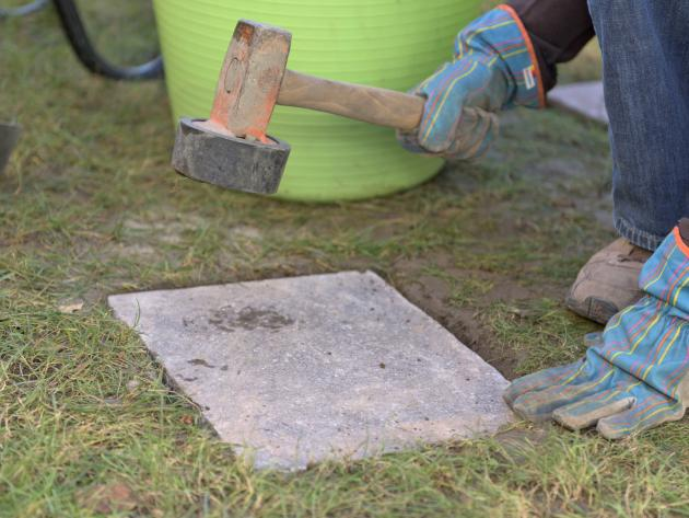 Garten Bodenplatten Verlegen natursteinarbeiten tanner gartenbau ag bodenplatten garten