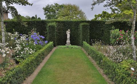 Englischer Garten Anlegen  Wohndesign