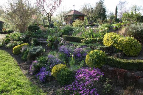 Hanggrundstck Garten gestalten  Mein schner Garten