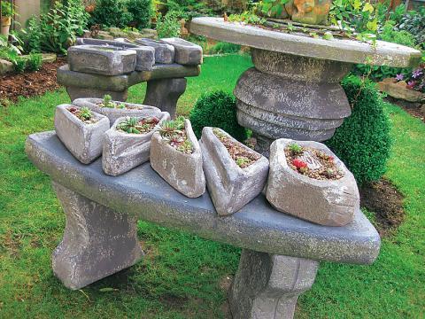 Ruinenmauern Im Garten  mksurfclub