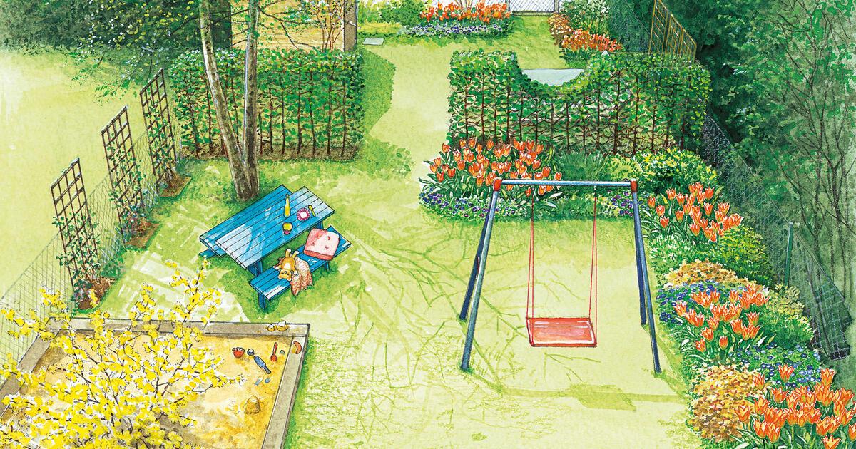 Gestaltungsideen fr einen Reihenhausgarten  Mein schner Garten